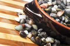 Bowl of clams Royalty Free Stock Photography