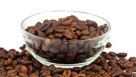 Bowl with coffee Royalty Free Stock Photo