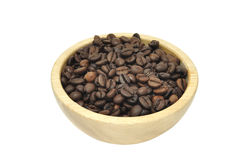 Bowl of Coffee Beans Stock Images