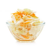 Bowl of coleslaw Royalty Free Stock Photography