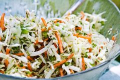 Free Bowl Coleslaw Stock Photos - 5384273