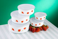 Bowl Containers Royalty Free Stock Photography