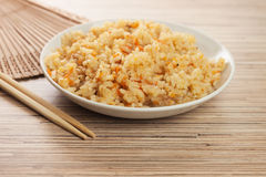 Bowl of cooked rice Royalty Free Stock Image