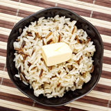 Bowl Of Cooked Rice Stock Photos
