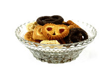 Bowl cookies Royalty Free Stock Photography