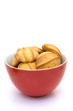 Bowl with cookies Stock Images