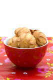 Bowl with cookies Stock Image