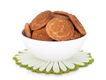 Bowl of cookies Stock Photo