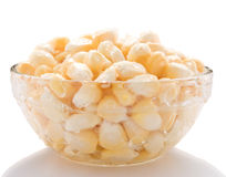 Bowl of corn Royalty Free Stock Photos