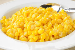 Bowl of corn Stock Image