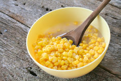 Bowl of Corn Royalty Free Stock Photo