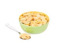 Bowl of corn flakes Royalty Free Stock Photos