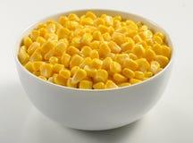 Bowl of Corn Stock Image