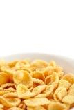 Bowl of cornflakes Stock Photos