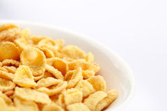 Bowl of cornflakes Stock Photo
