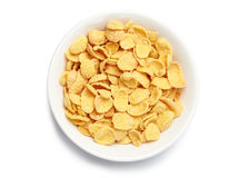 Bowl of cornflakes Stock Image