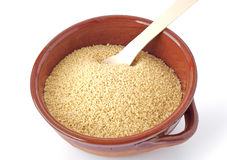 Bowl of couscous Royalty Free Stock Image
