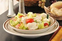 Bowl of crab salad Stock Photos