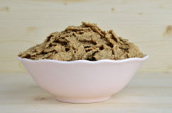Bowl of Crunchy Cereals Royalty Free Stock Image