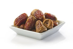 Bowl of dates Stock Image
