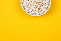Bowl of Delicious Popcorn Stock Photography