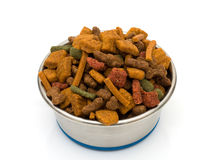 A Bowl of Dog Food Royalty Free Stock Photos