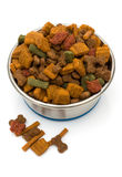 A Bowl of Dog Food Royalty Free Stock Photo