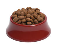 Bowl of Dog Food Royalty Free Stock Photos
