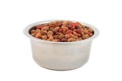 Bowl of dogfood royalty free stock photos