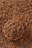 Bowl of dried cloves royalty free stock images