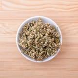 Yarrow tea Stock Photo
