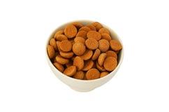 Bowl dutch pepernoten Stock Image