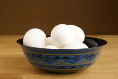 Bowl of Eggs Royalty Free Stock Photo