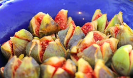 Bowl of figs Stock Photo