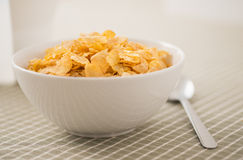 Bowl filled with breakfast cereal Stock Photo