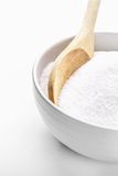 Bowl filled with sugar Stock Photo