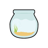 Bowl fish pet life marine aquatic swim icon. Vector graphic. Bowl fish pet life marine aquatic swim icon. Isolated and flat illustration. Vector graphic Royalty Free Stock Image