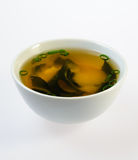 Bowl of fish soup Royalty Free Stock Photo