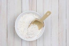 Bowl of Flour Royalty Free Stock Image