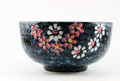 Bowl with flower design Royalty Free Stock Photography