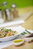 Bowl of foods in macrobiotic diet Stock Images