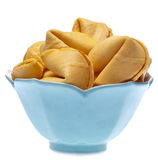 Bowl of Fortune Cookies Royalty Free Stock Image