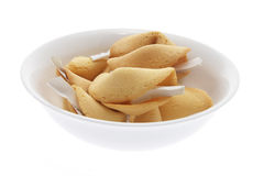 Bowl of Fortune Cookies Stock Image