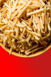Bowl of French fries  Stock Images