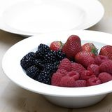Bowl of fresh berries Stock Photography