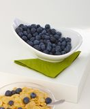 Bowl of fresh blueberry Royalty Free Stock Images