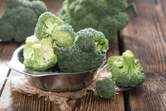Bowl with fresh Broccoli Royalty Free Stock Images