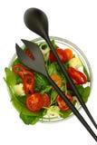Bowl of fresh colorful salad Royalty Free Stock Photo
