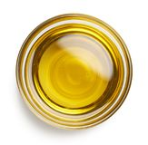 Bowl of extra virgin olive oil Royalty Free Stock Image