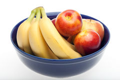 Bowl of fresh fruit Royalty Free Stock Images